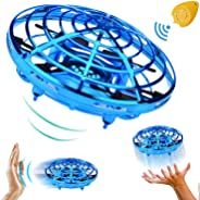 UFO Drone Flying Ball Gesture Control for boys and girls, 2.4G RC Quadcopter Aircraft Smart Watch Hand Controlled 360°Rotati