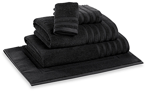 DKNY Luxe Hand Towel (Graphite) - BedBathandBeyond.com