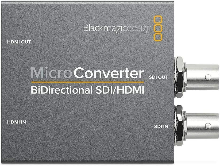 Blackmagic Design Convbdc Sdi Hdmi Video Converter 1920 X 1080 Pixels 1920 X 1080 Pixels 720p 1080i 1080p Sdi Hdmi 5 25v 2 5w Grey Amazon Co Uk Tv
