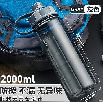 SHULING Taza Del Agua Capacidad Máxima Del Vaso De Plástico Hermético Portátil Espacio Deportes Cup Calentador