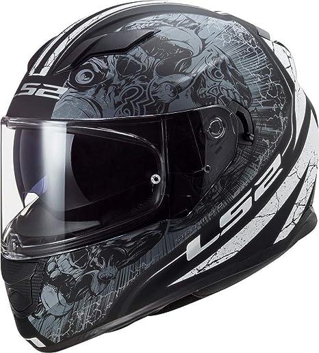 Ls2 Herren Nc Motorrad Helm Schwarz M Auto
