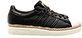 adidas Originals Superstar 80S New Bold W, Core Black-Core Black-Off White, 8