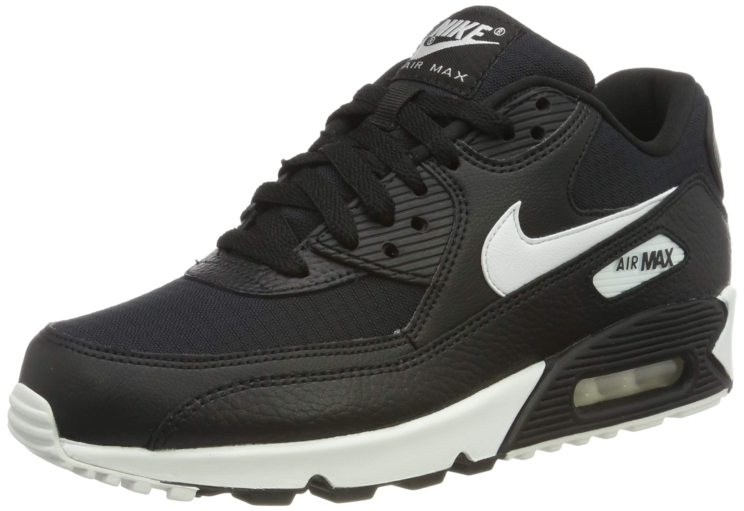 73529862c9093 Nike Women s WMNS Air Max 90 Running Shoes Summit White Black 060