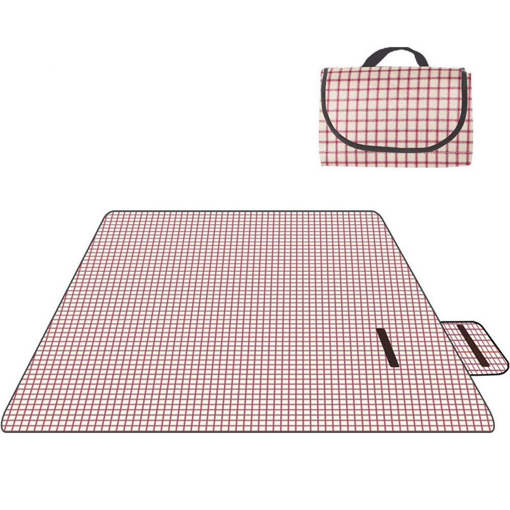 DOGYEARDAJI Picknick Im Grünen Matte Feuchtigkeit Verpackt Picknick Strandmatte B07D159Q5D | Elegantes Aussehen