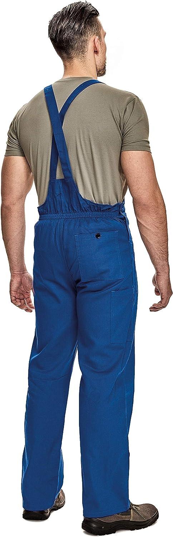 UDO Salopette da Lavoro Stile Cargo Cotone Traspirante Uomo Colori Diversi
