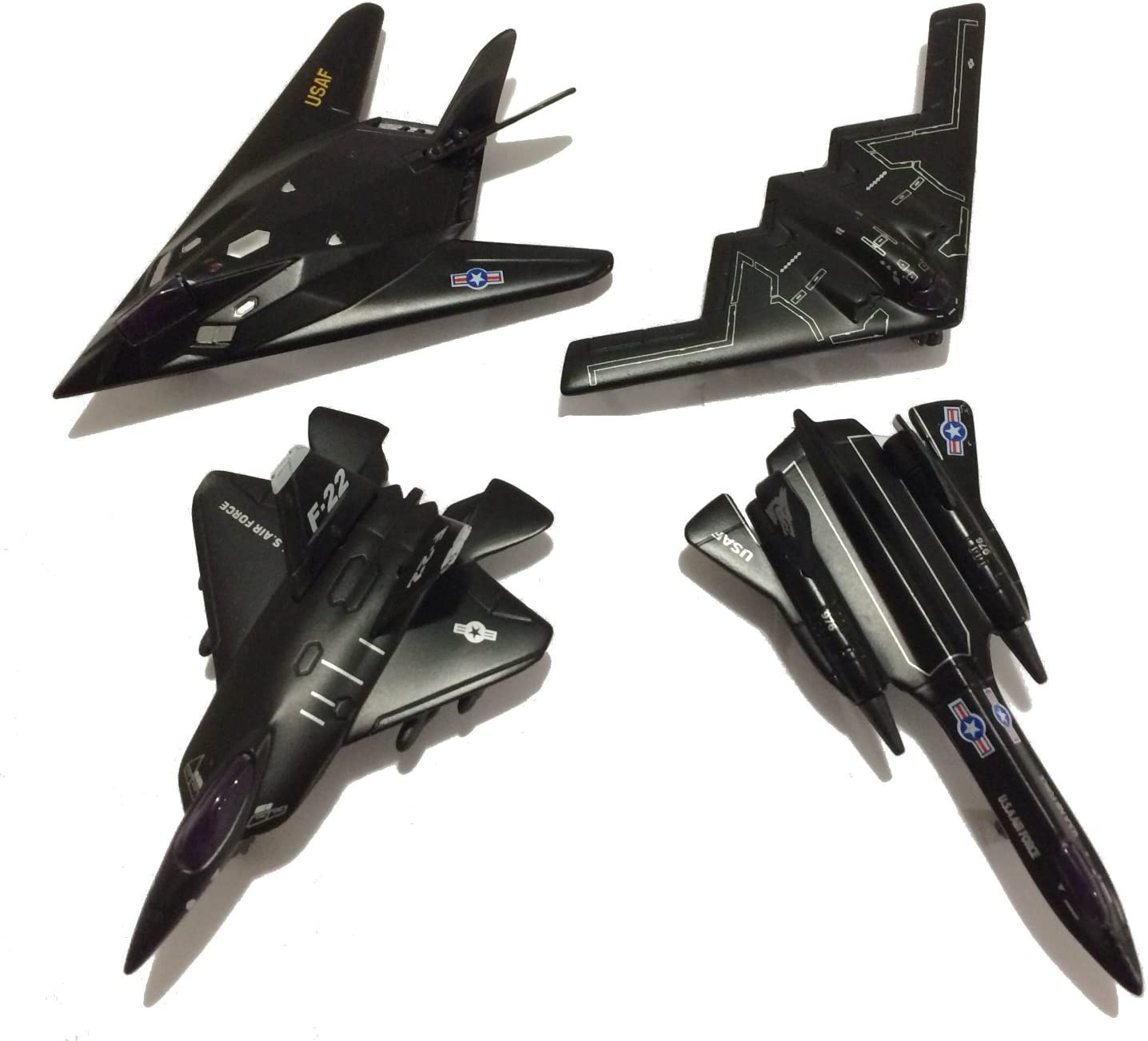 Kinsmart Die-Cast Metal X Force Commander Toy Plane