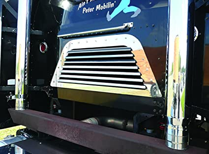 Amazon com: Peterbilt 362 COE BACK OF CAB GRILL W/7 LOUVER
