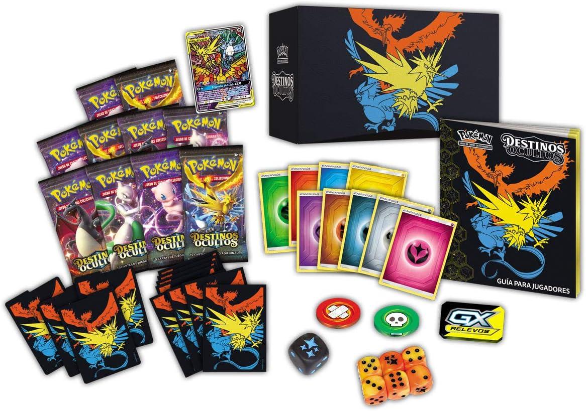 Pokemon - Caja entrenador Elite Destinos Ocultos (Bandai PC50054 ...