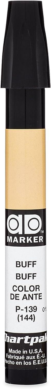 The Original Chartpak AD Marker, Tri-Nib, Buff, 1 Each (P139)