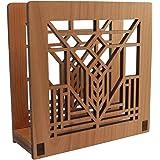 Frank Lloyd Wright D D MARTIN Design Laser Cut Wood Napkin Holder Lightwave Laser FLW-NH-05