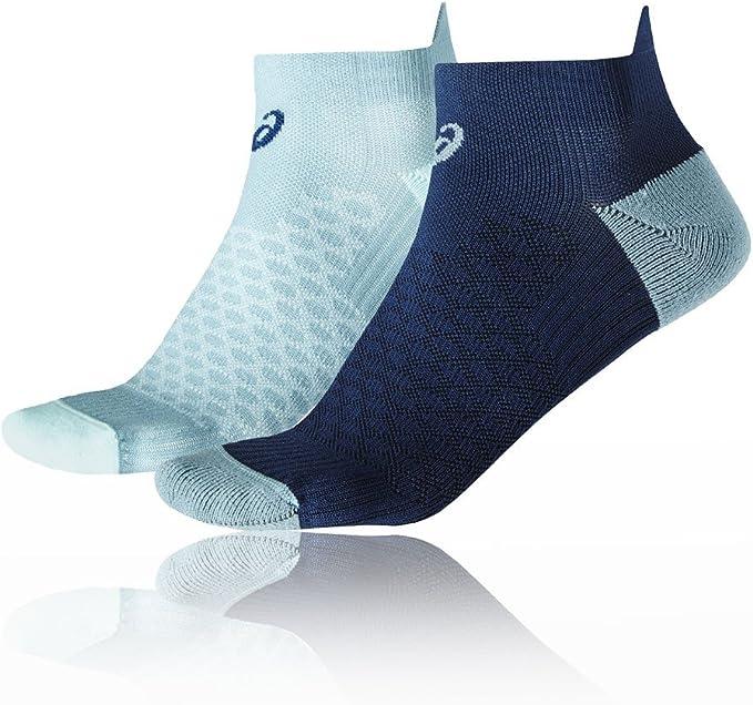 Asics 2 Pack Women's Running Socks - X Small: Amazon.co.uk: Clothing