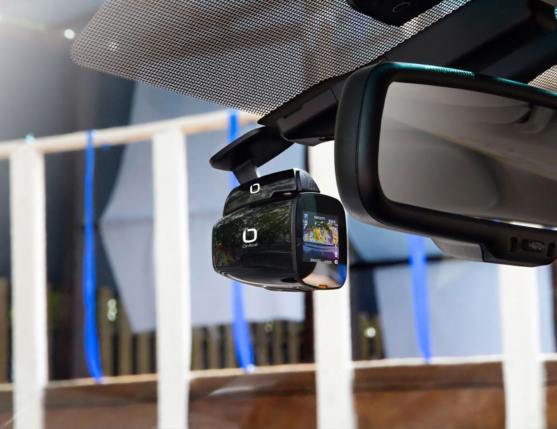 OnReal c/ámara del veh/ículo 1080P con Incorporado WiFi GPS 1.5Pantalla 150 Grados Angular de Lente magn/ética de Soporte Soporta G-Sensor Loop Bewegungserkennung Parkmodus Auto C/ámara