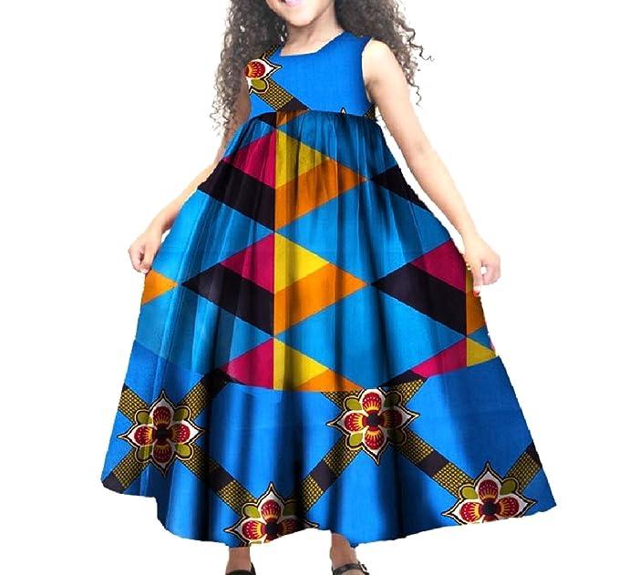 Amazon.com: whitive niña fina tela de cera africana de ...