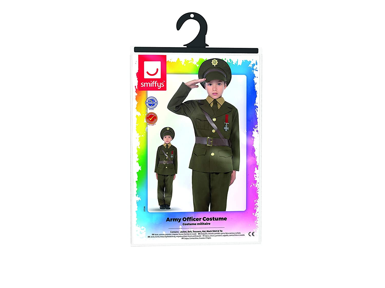 Amazon.com: Smiffys Childs Army Officer Costume: Toys & Games