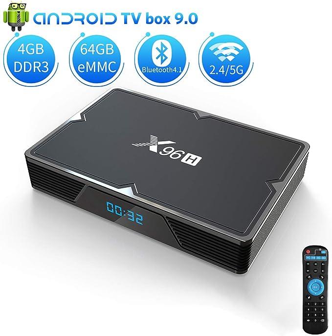 Aoxun, Android TV Box, Negro: Amazon.es: Electrónica