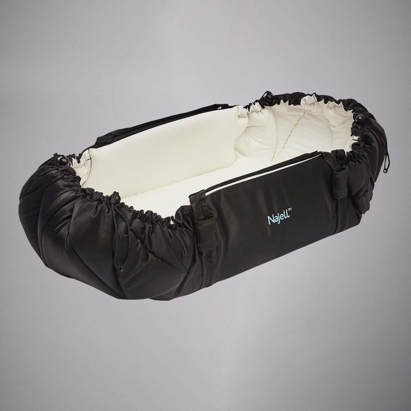 Najell 17819 SleepCarrier matte black, schwarz Klein AG