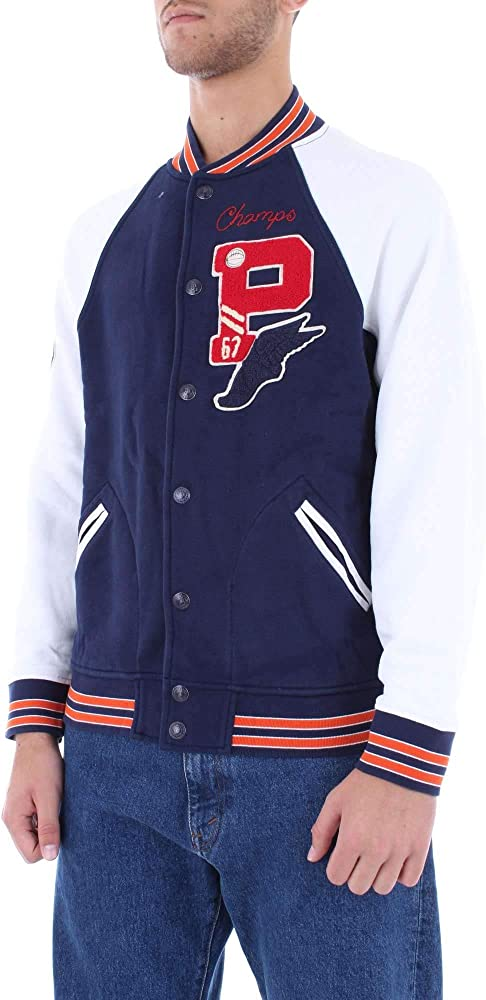 Ralph Lauren Chaqueta Football Polo Azul/Blanco L Cruise Navy ...