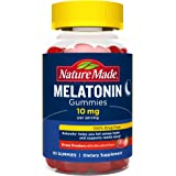 Nature Made Melatonin 10 mg Gummies, 60 Count of Melatonin Gummies for Supporting Restful Sleep