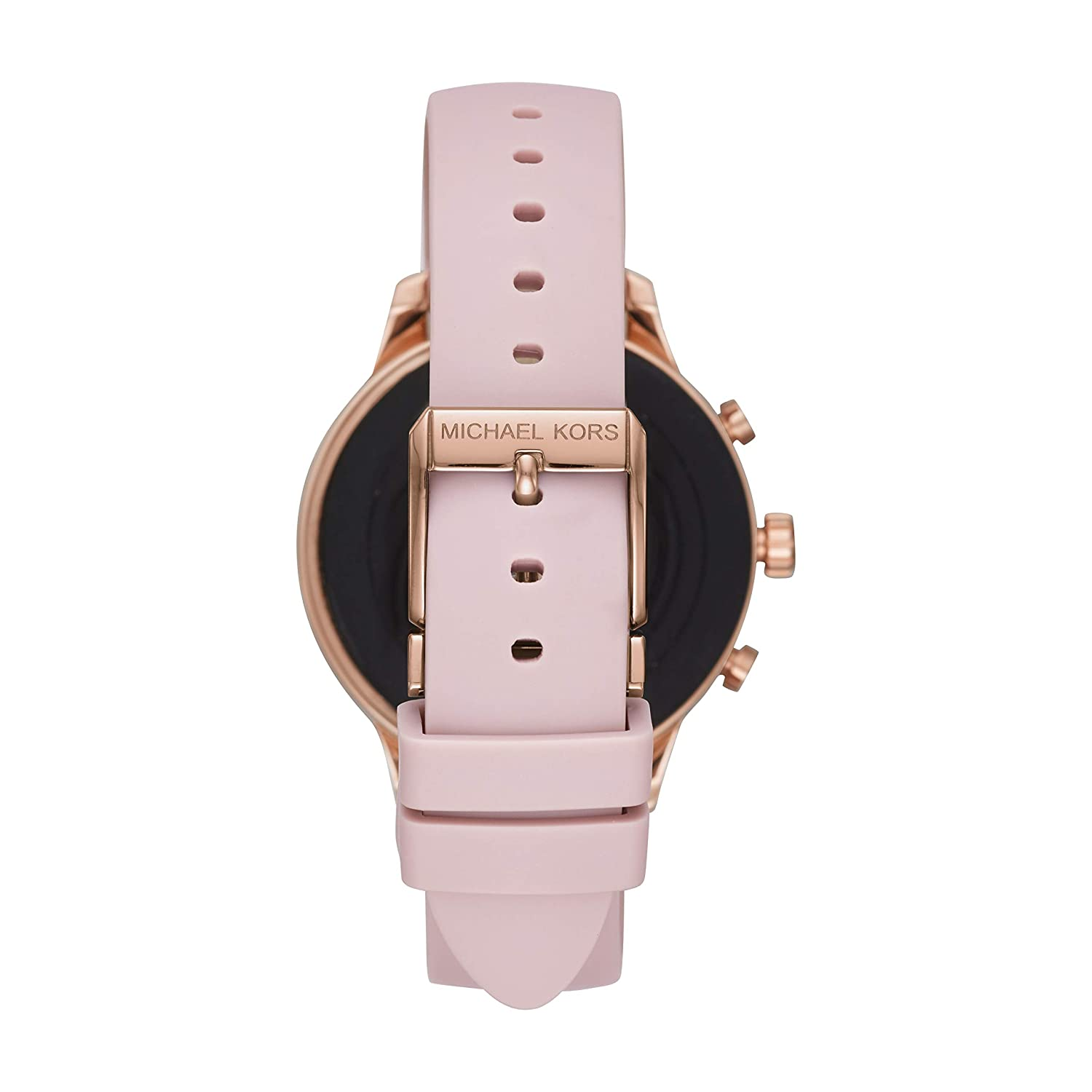 c6005b3f3931 Amazon.com  Michael Kors Women s Access Runway Stainless Steel Silicone  Smart Watch