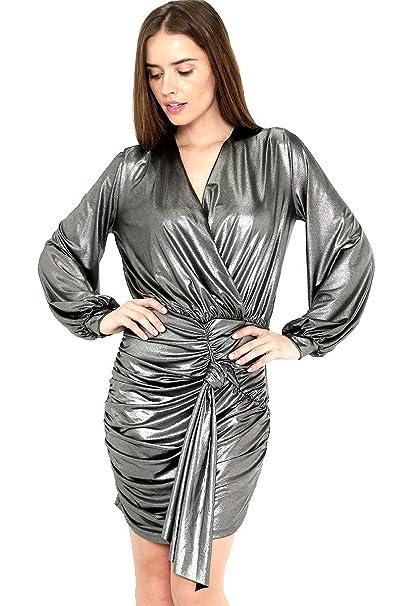 Jkulfc35t1 Plateado Vestido Mujermxropa Lob Para 0wOmNv8n