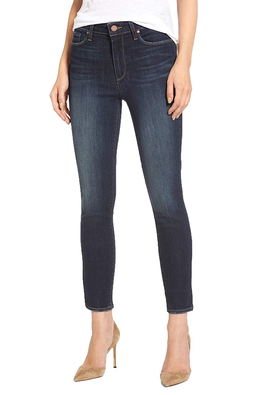 PAIGE Women's Hoxton Crop High Waist Skinny Jeans