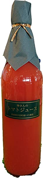 無添加 100%トマトジュース(720ml) 青森中泊町産 神さんのトマトジュース×2本