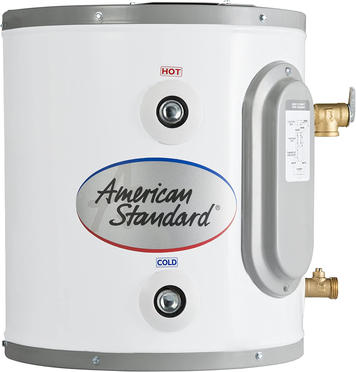 American Standard Ce 6 As 6 Gallon Point Of Use Electric Water Heater Amazon Com
