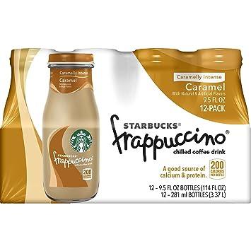 Starbucks Frappuccino Coffee Drink Caramel 9 5 Oz Bottle 12 Pk