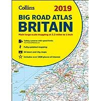 2019 Collins Big Road Atlas Britain (Collins Road Atlas)