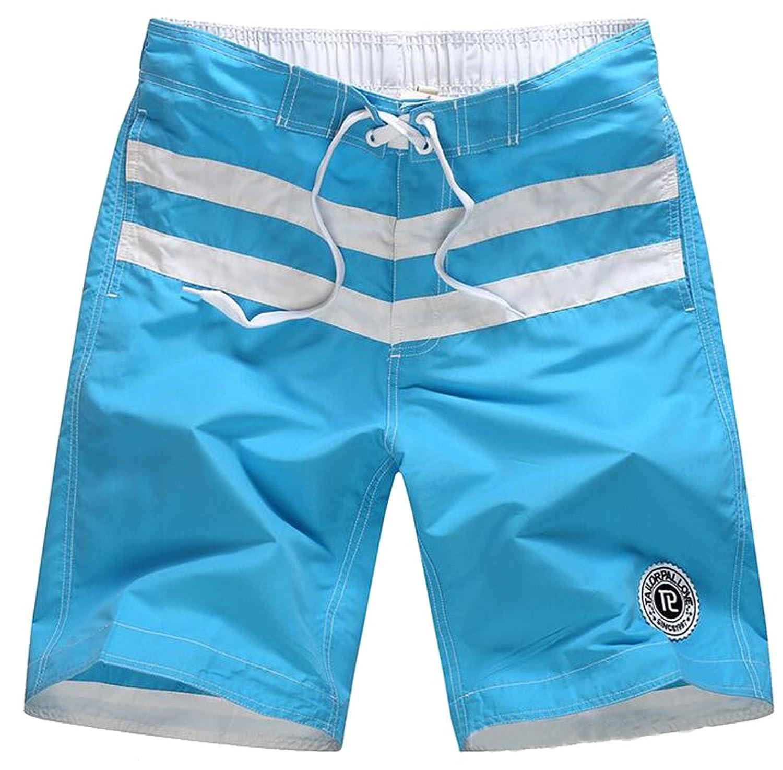 Remember Everyone Deployed Men Cotton Beach Shorts Loose-Fit