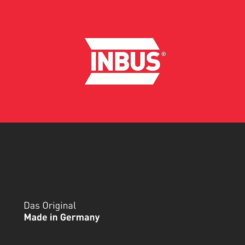 Zoll 1//16-1//4 Kurz I Made in Germany INBUS/® 70389 Inbusschl/üssel Set 7tlg