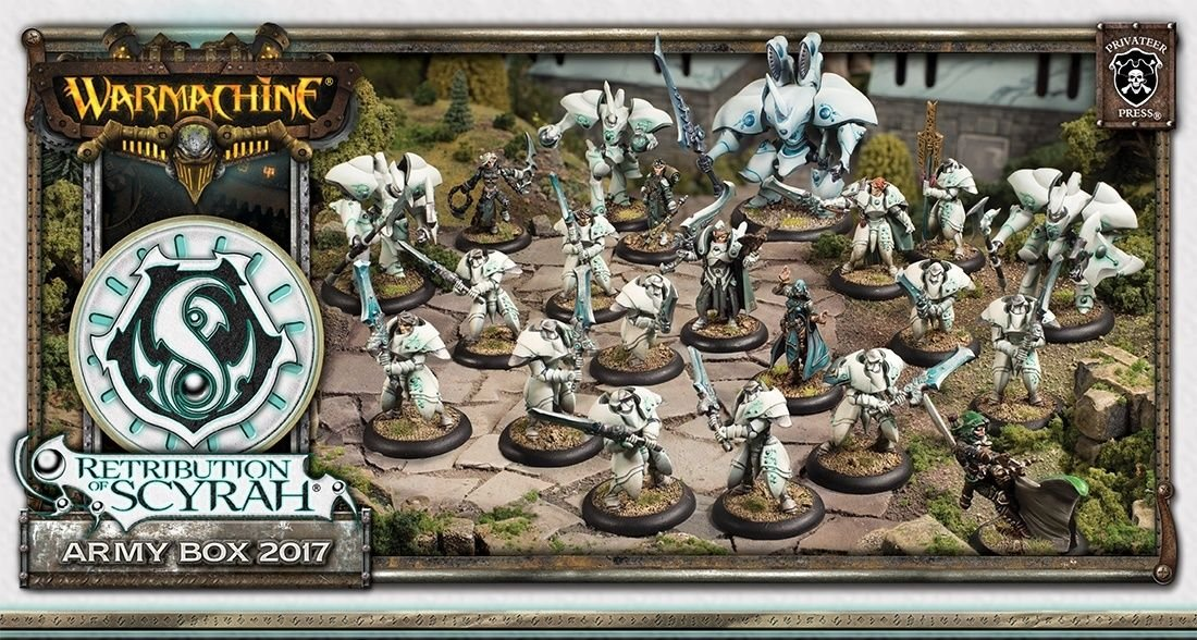Warmachine Retribution of Scyrah Army Box 2017