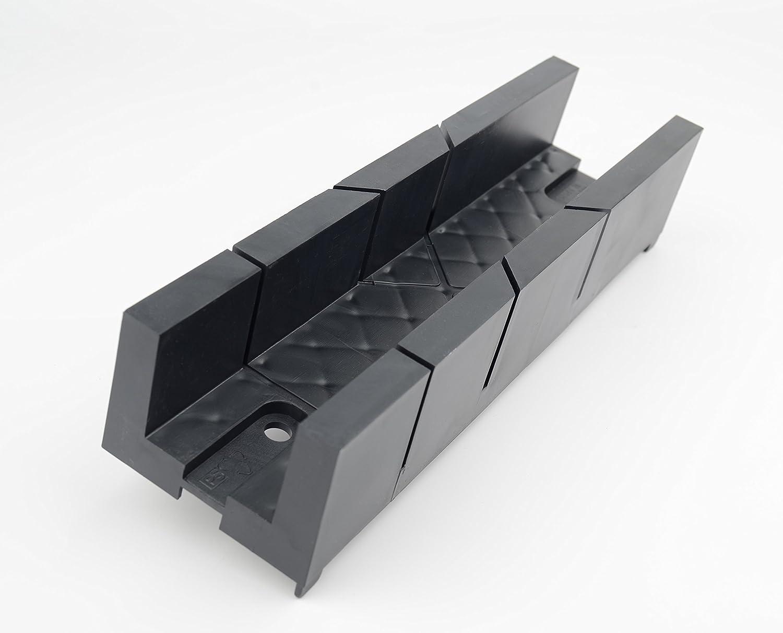 Brüder Mannesmann Werkzeuge M 360 plástico caja de ingletes, 245 ...