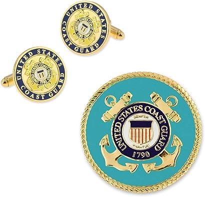 USCG COAST GUARD VETERAN UNITED STATES LAPEL PIN BADGE 1 INCH