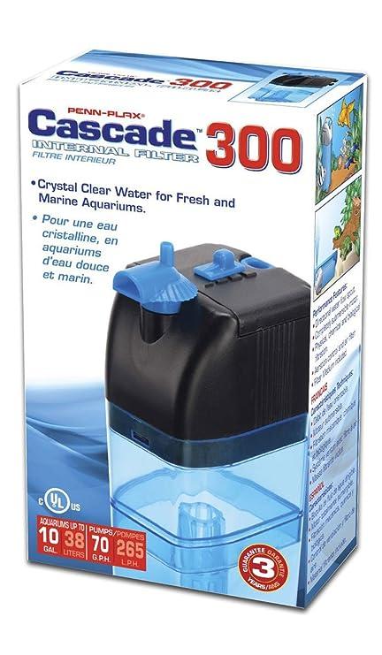 .com : penn plax cascade 300 submersible aquarium filter ...