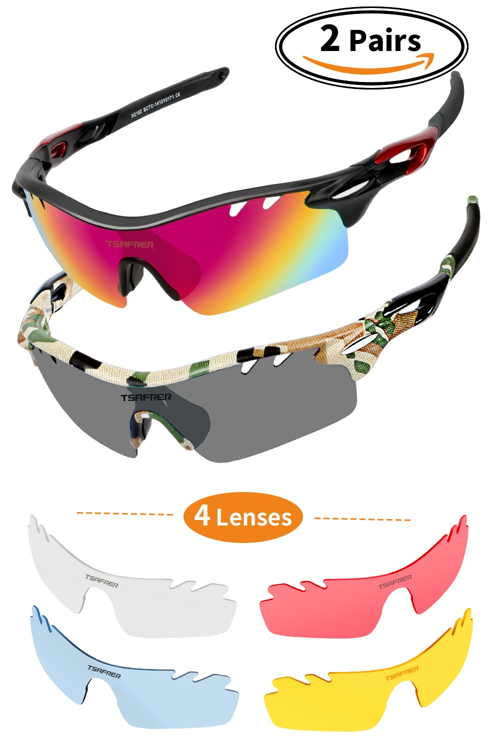 aea7a37c76b Cycling Sunglasses Polarized Sunglasses for man