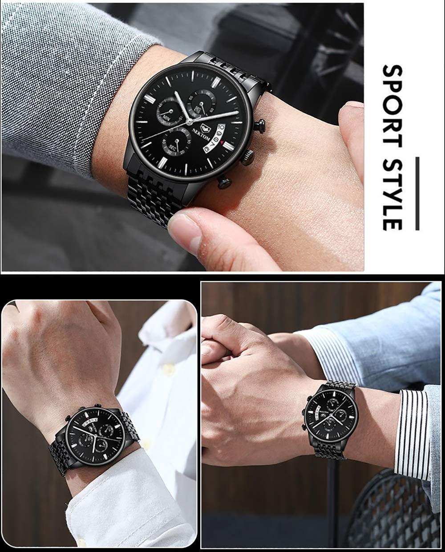 Män mode mekanisk klocka sport armband klocka vattentät kvartsur herrklocka herrklocka herrklocka herrklocka herrklocka G8186E W8186e