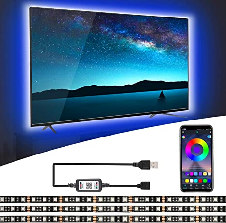 3m LED TV Hintergrundbeleuchtung Kit Für 32-60 Zoll TV Licht-Band Stripe Streife