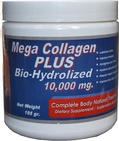 3 BIO-HYDROLIZED COLLAGEN 10,000 mg in (2) teaspoons daily. by 3 BIO-HYDROLIZED COLLAGEN 10,000 mg