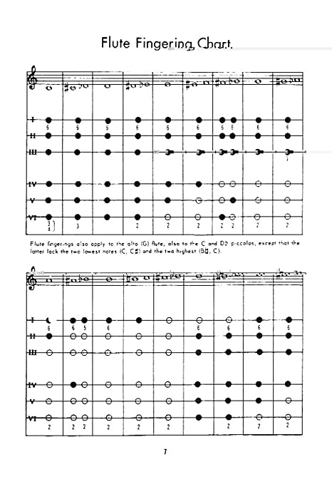 Handy Manual Of Fingering Charts For Instrumentalists AmazonCa