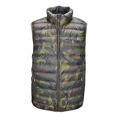 Ralph Lauren - doudoune sans manche ralph lauren camouflage XL  Amazon.fr   Vêtements et accessoires 64d7dd4a7b9