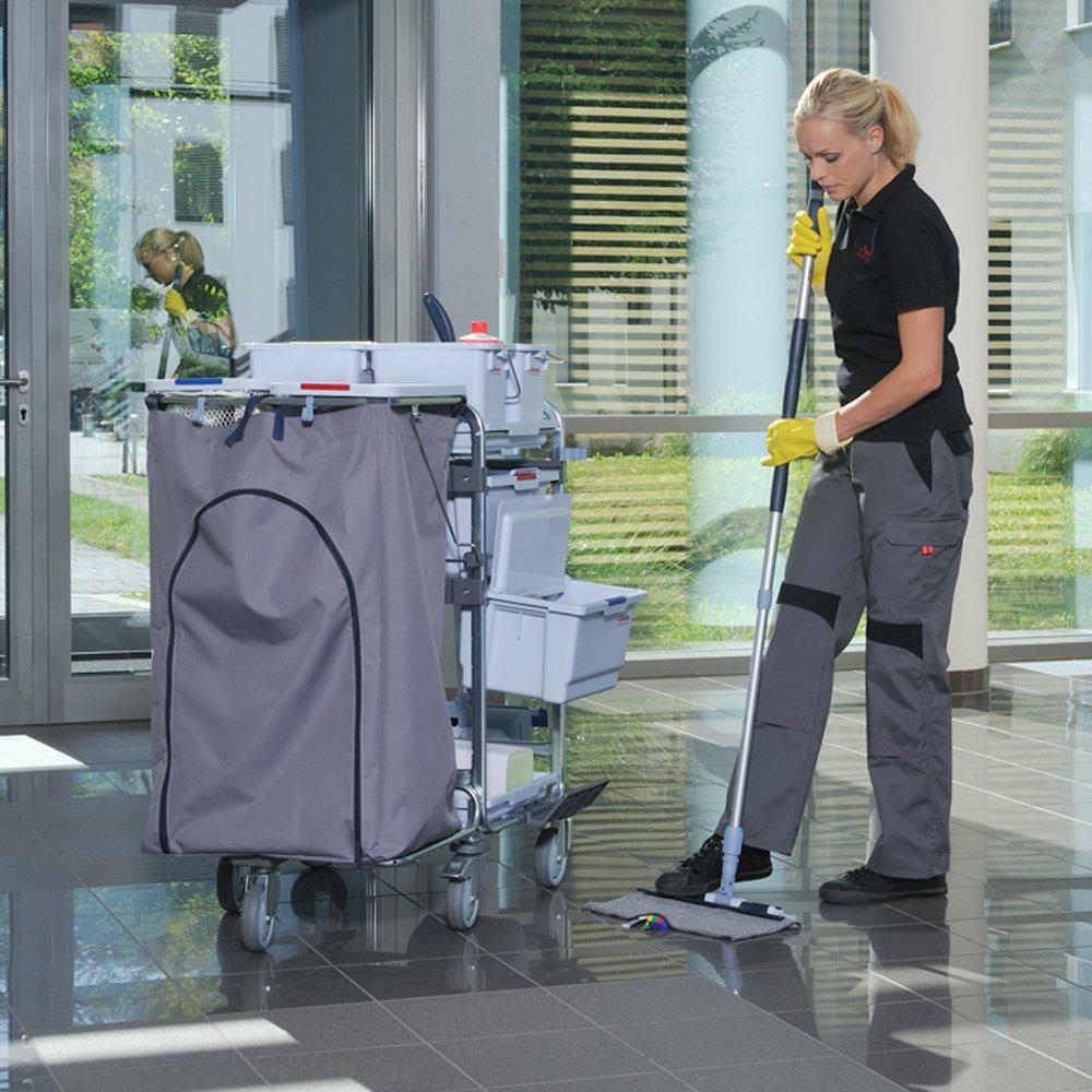 Vileda Professional 138695 Click Speed Mop Refills - Gray (case of 50)