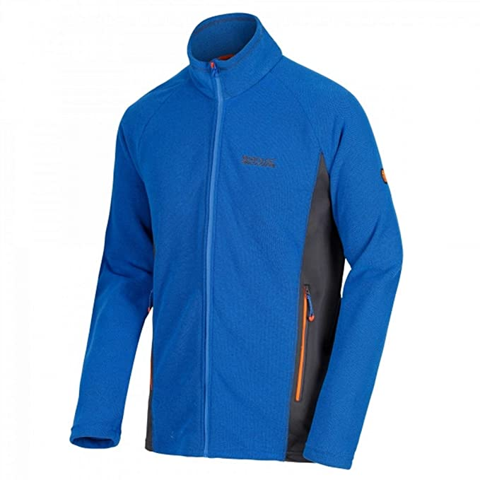 Regatta - Chaqueta Polar Modelo Tafton para Hombre (S UK/Azul Oxford/Gris