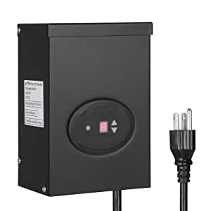 DEWENWILS Outdoor Low Voltage Transformer