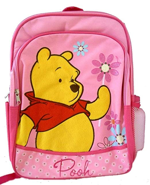 38ef61bb1ed Image Unavailable. Image not available for. Color  Disney Winnie the Pooh  Pink Back to School Backpack