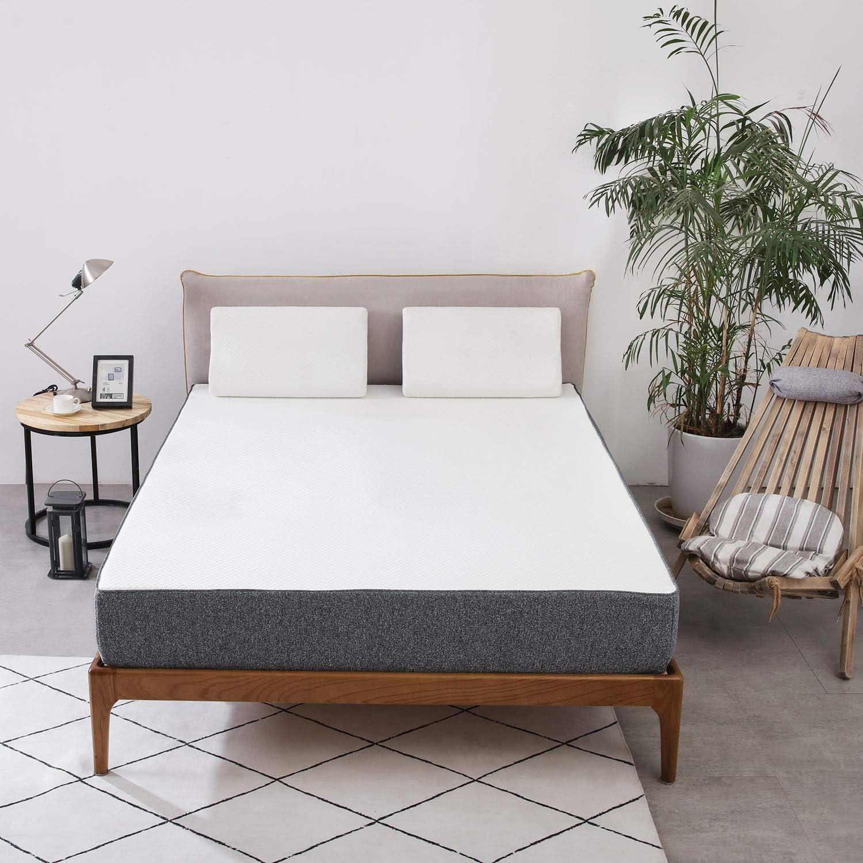 Amazon Basics - Colchón híbrido multicapas, 140 x 200 cm