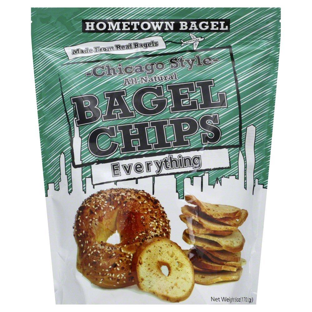 Hometown Bagel Chip Bagel Everything 6.0 OZ by HOMETOWN BAGEL
