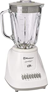 Koblenz LKM-5910 VB 1.5-Liter Kitchen Magic Collection 10 Speed and 2 Pulses Glass Jar Blender, One Size, White