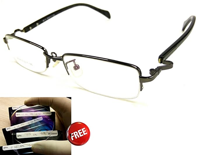 0d249d047a3 ... (power) UV protection-computer mobile protection lenses with Nayan  iCare new look branded rectangular semi rimless spectacles frames for women  stylish ...
