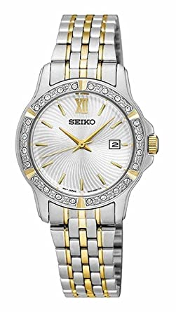 SEIKO-Quartz Ladies Two Tone Watch